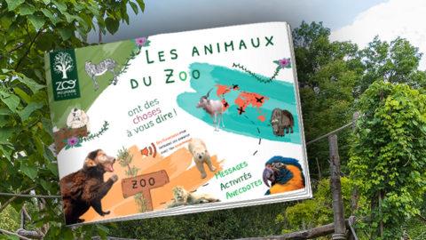 En savoir plus sur 'Un tout nouveau livret de visite du zoo !'