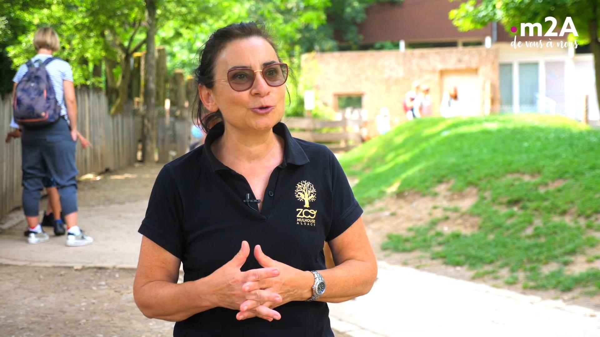 Pédagogie au zoo de Mulhouse - Corinne Di Trani Zimmermann, responsable pédagogique