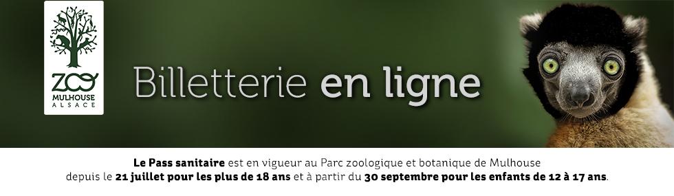 Billetterie du zoo de mulhouse - pass sanitaire
